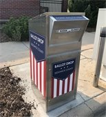 Ballot Dropbox installed at Bel Aire City Hall