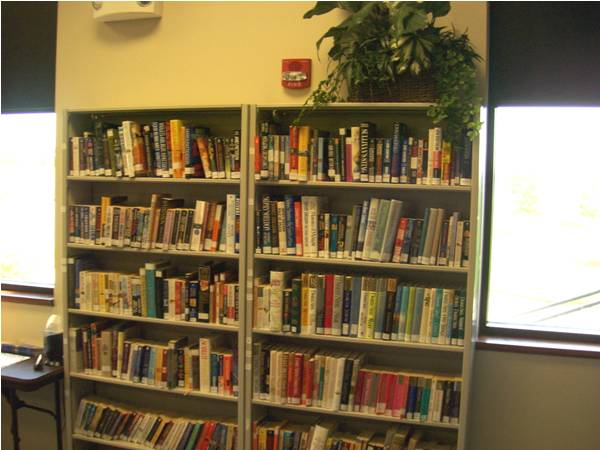 The library of entertainment at the Bel Aire Media Center