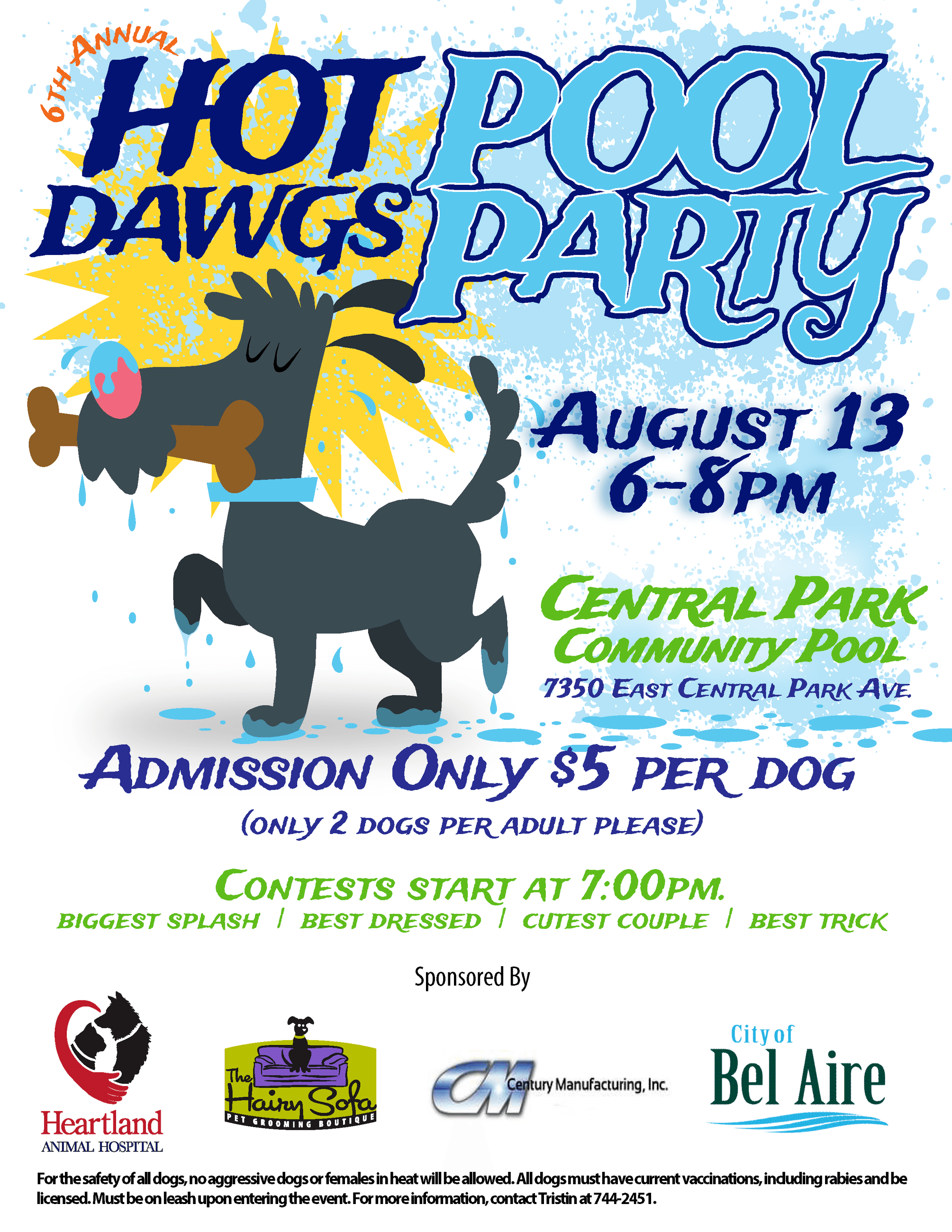 6th Annual Hot Dawgs Pool Party