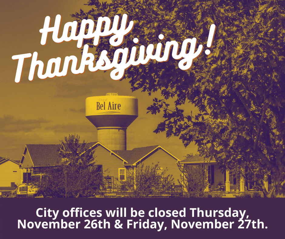 Offices closed for Thanksgiving on November 26th & 27th