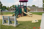 Bel Aire Park Equipment with slides and stairs