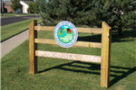 Brookhouser Park  Sign